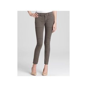 NWOT Free People Gray Pants Military Twill Utility